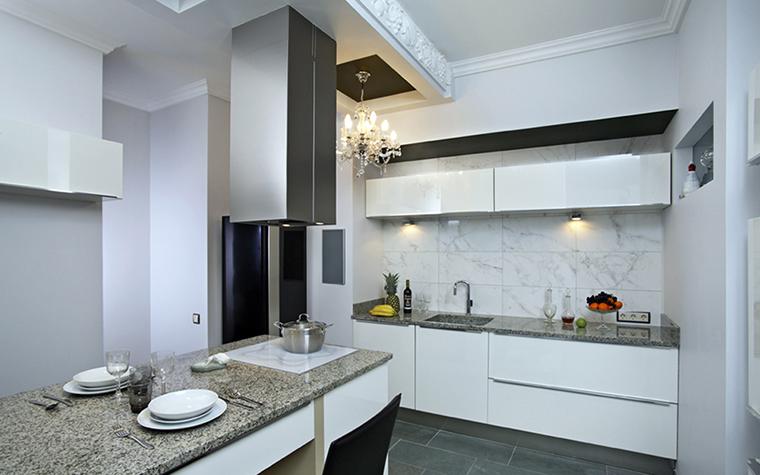 Квартира. кухня из проекта , фото №38472
