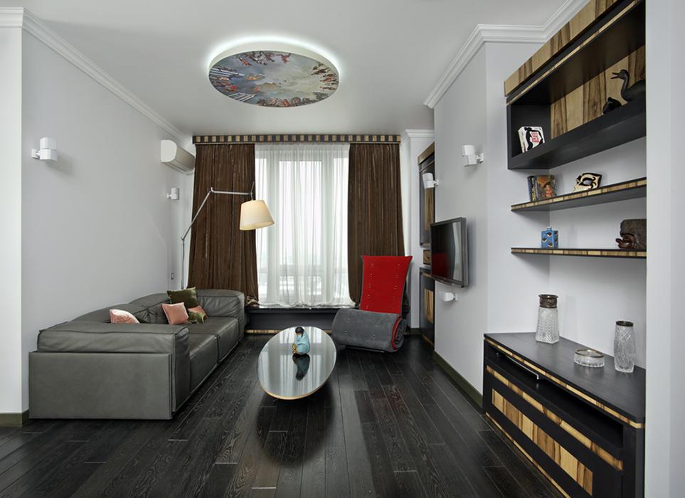 Квартира. гостиная из проекта , фото №38454