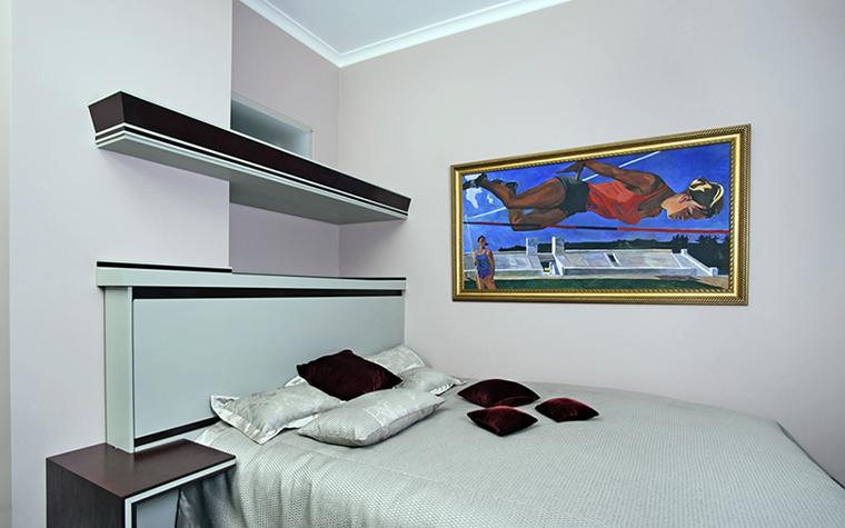 Квартира. спальня из проекта , фото №38437