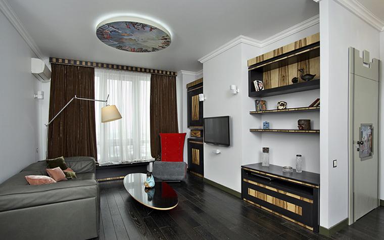 Квартира. гостиная из проекта , фото №38455