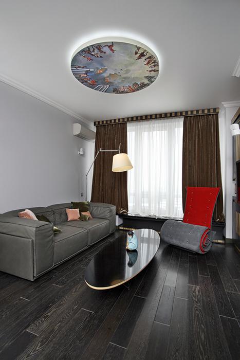 Квартира. гостиная из проекта , фото №38456