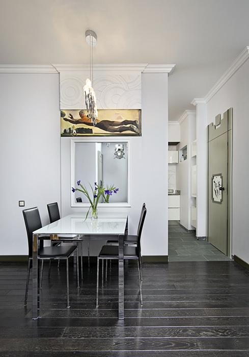 Квартира. столовая из проекта , фото №38457