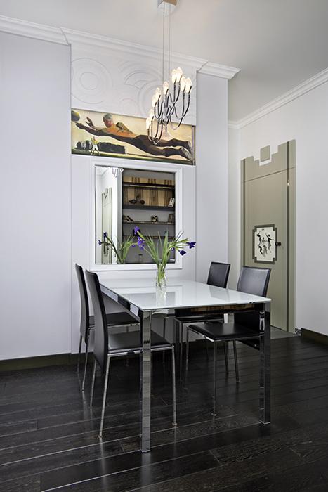 Квартира. столовая из проекта , фото №38458
