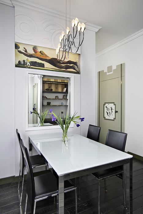 Квартира. столовая из проекта , фото №38459