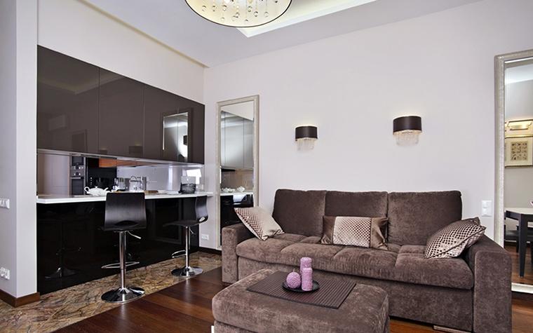 Квартира. гостиная из проекта , фото №38506