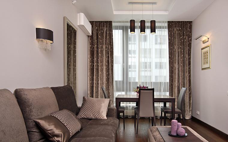 Квартира. гостиная из проекта , фото №38502
