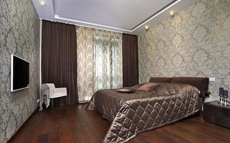 Квартира. спальня из проекта , фото №38491