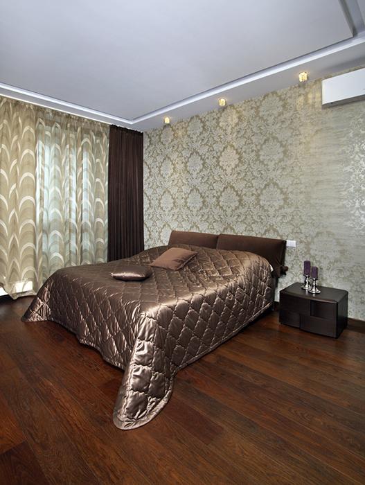 интерьер спальни - фото № 38492