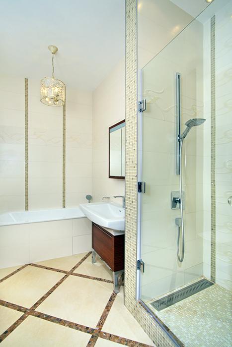 Квартира. ванная из проекта , фото №38484