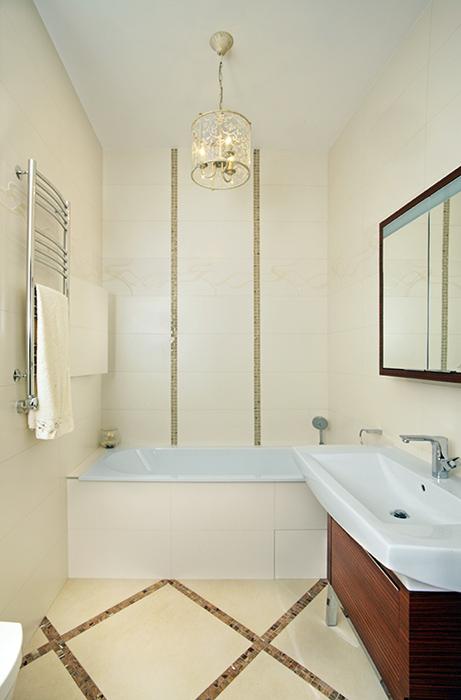 Квартира. ванная из проекта , фото №38485