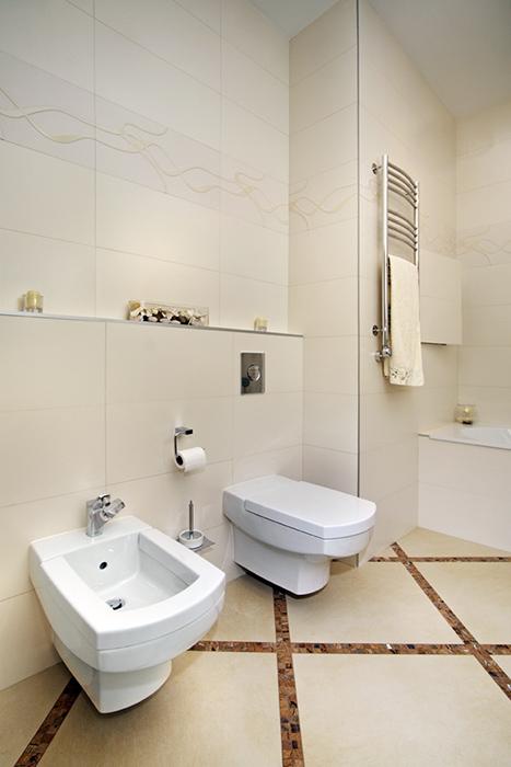 Квартира. ванная из проекта , фото №38486
