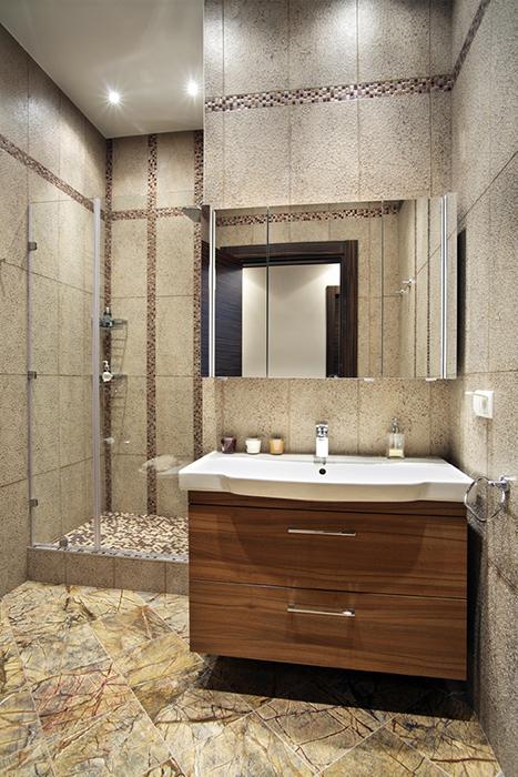 Квартира. ванная из проекта , фото №38487