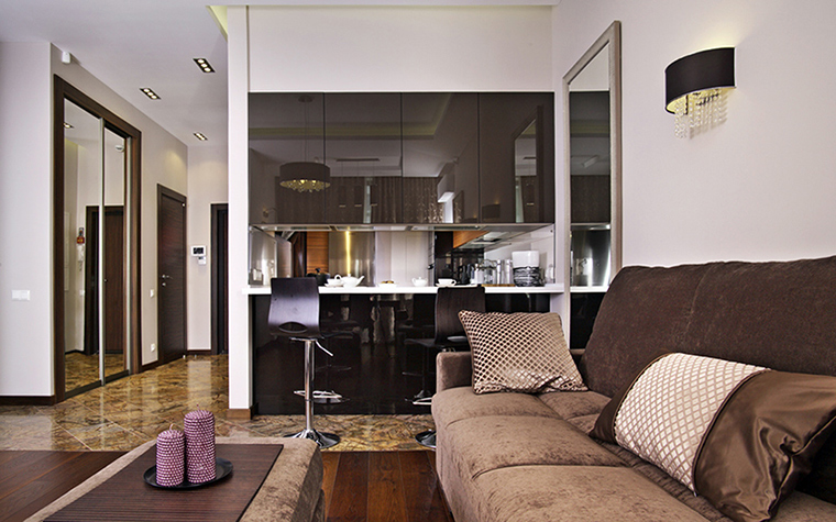 Квартира. гостиная из проекта , фото №38504