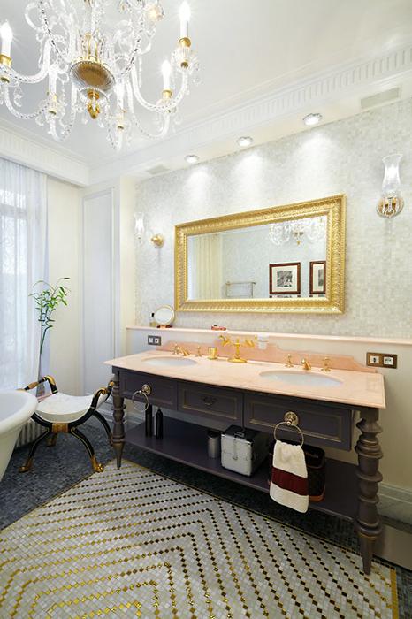 Квартира. ванная из проекта , фото №38581