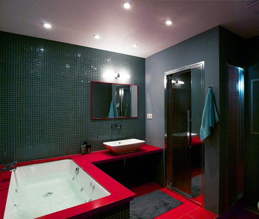Квартира. ванная из проекта , фото №38617
