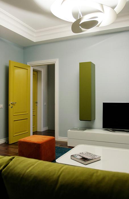 Квартира. гостиная из проекта , фото №38628