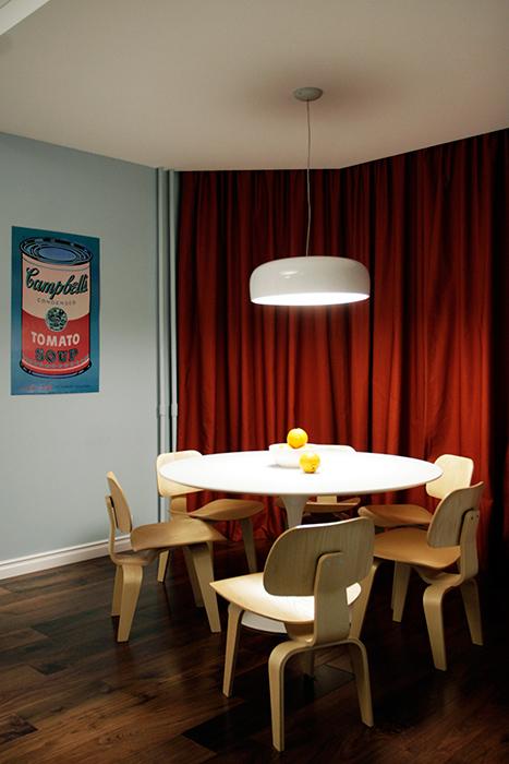 Квартира. столовая из проекта , фото №38619