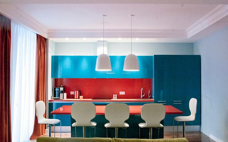 Квартира. кухня из проекта , фото №38624