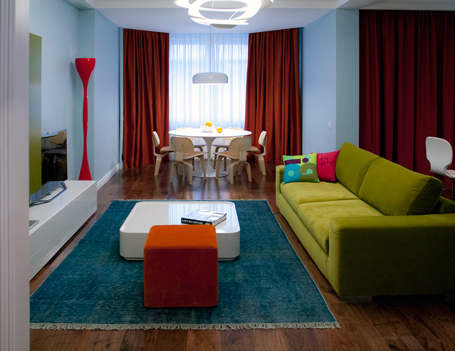 Квартира. гостиная из проекта , фото №38626