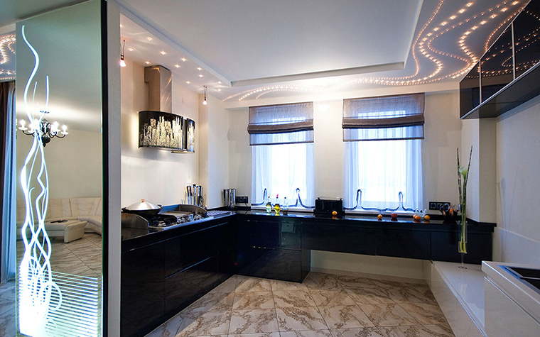 Фото № 38740 кухня  Квартира
