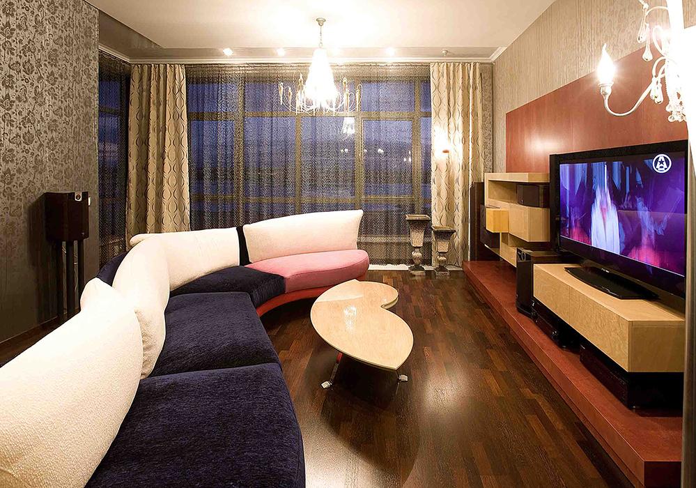 Фото № 38773 гостиная  Квартира