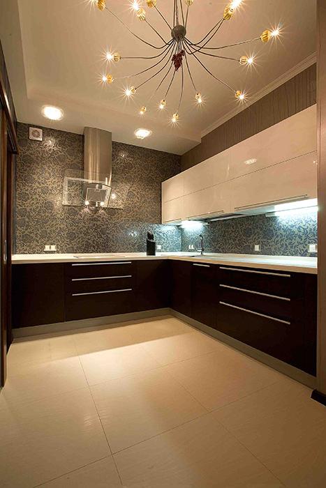 Фото № 38775 кухня  Квартира