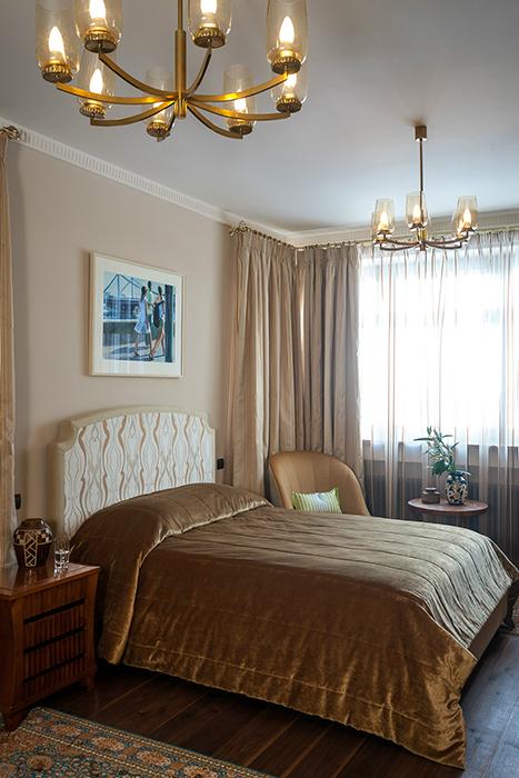 интерьер спальни - фото № 38762