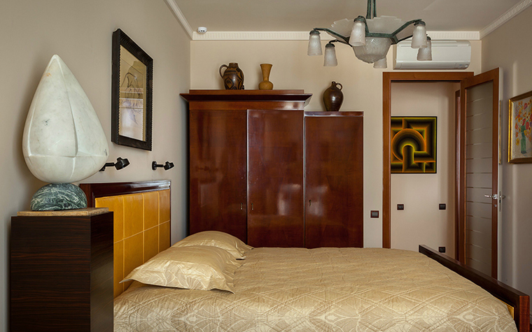 интерьер спальни - фото № 38761