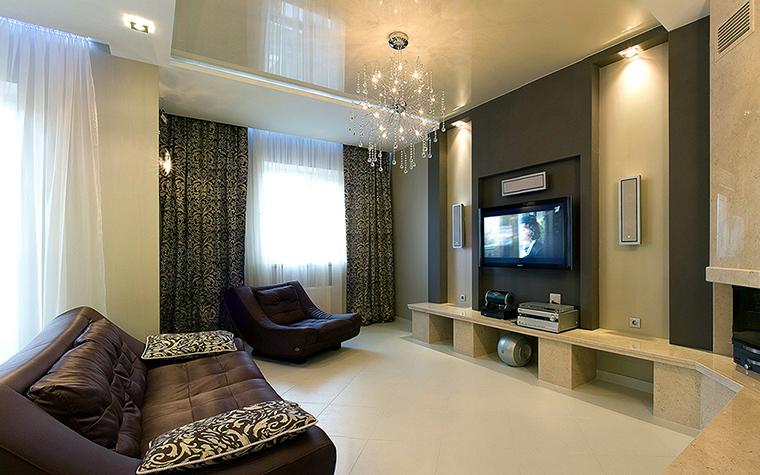 интерьер гостиной - фото № 38789