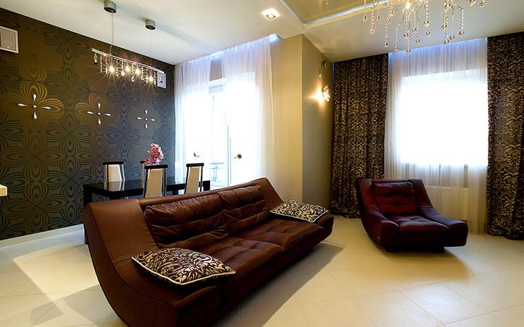 Квартира. гостиная из проекта , фото №38790