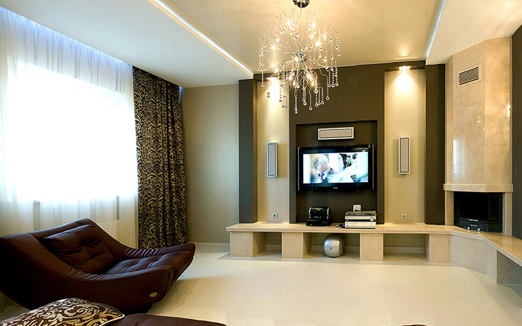 интерьер гостиной - фото № 38791