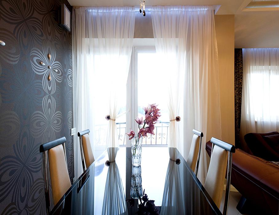 Квартира. столовая из проекта , фото №38793