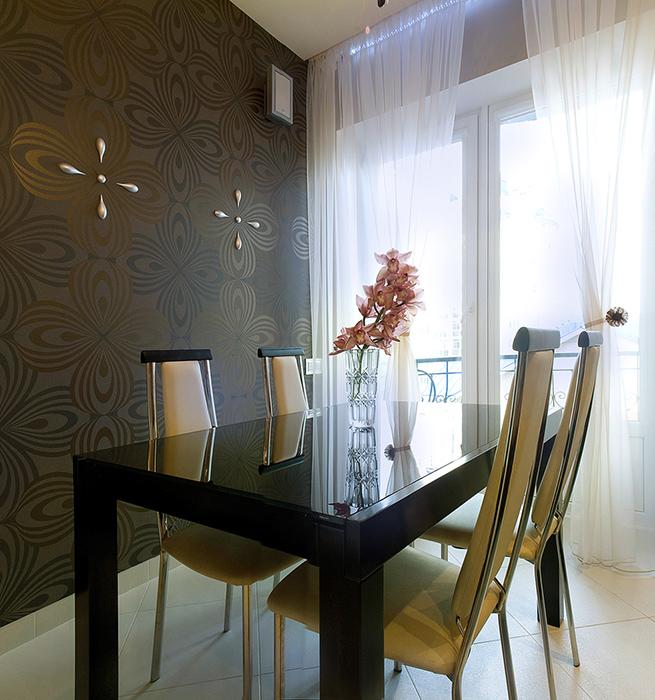 Квартира. столовая из проекта , фото №38794
