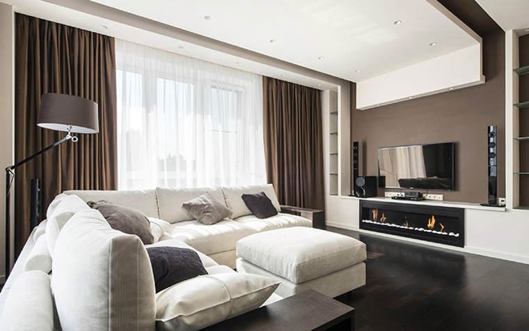 интерьер гостиной - фото № 38811