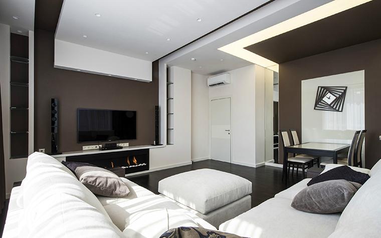 Квартира. гостиная из проекта , фото №38813