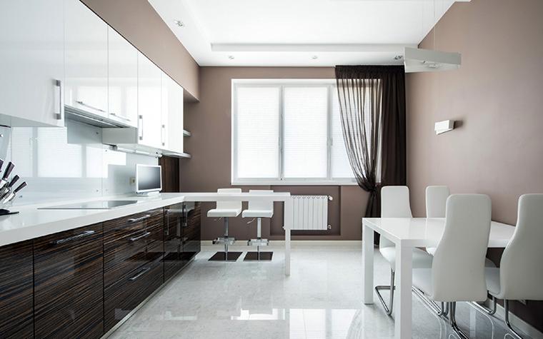 Квартира. кухня из проекта , фото №38815