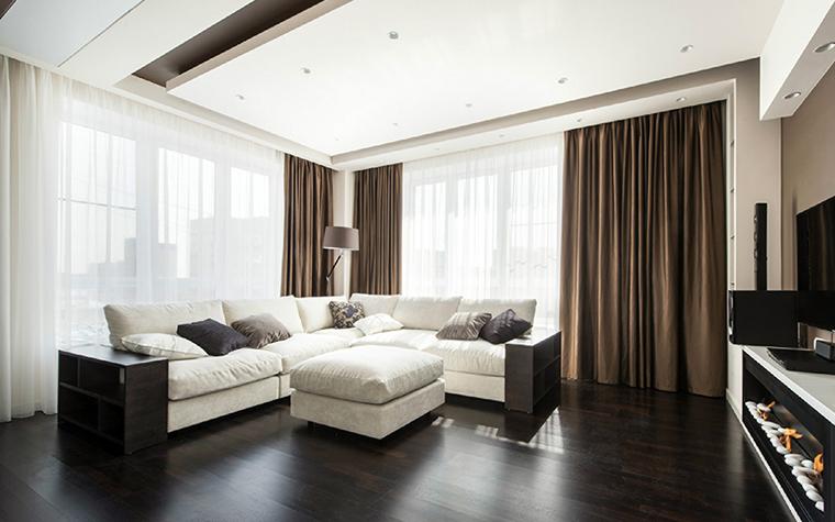Квартира. гостиная из проекта , фото №38812