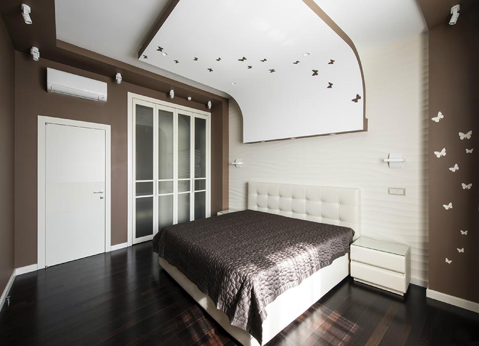 Квартира. спальня из проекта , фото №38817