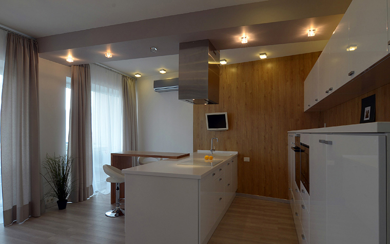 Квартира. кухня из проекта , фото №38870