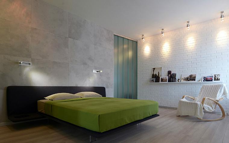 Квартира. спальня из проекта , фото №38855