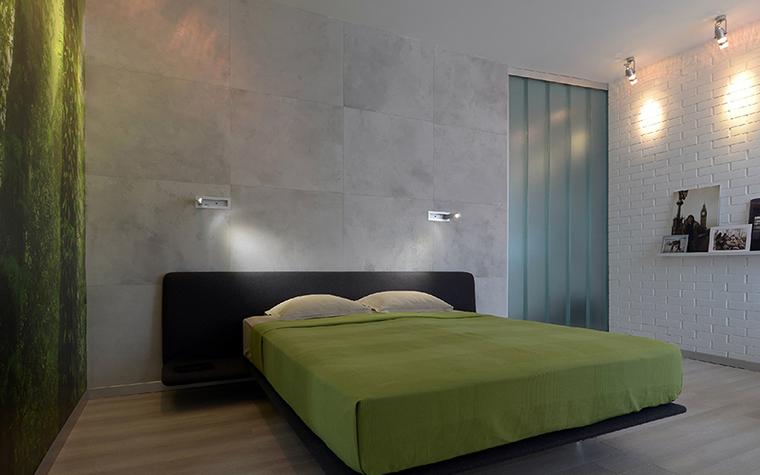Квартира. спальня из проекта , фото №38857