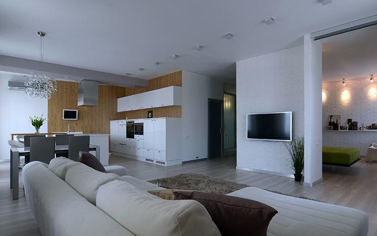 Фото № 38860 гостиная  Квартира