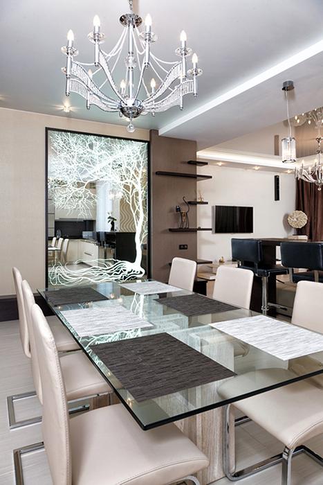Квартира. столовая из проекта , фото №38978