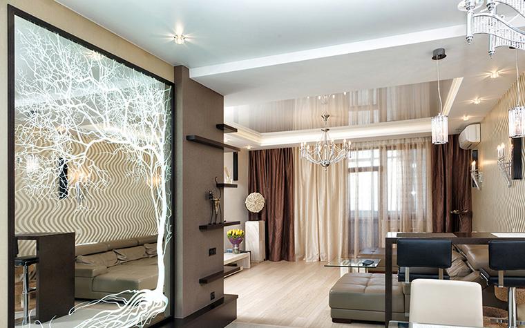 Фото № 38985 гостиная  Квартира