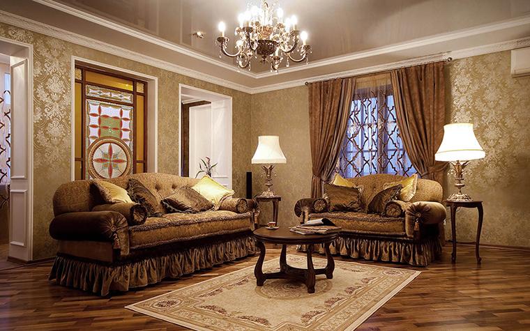 Квартира. гостиная из проекта , фото №39046