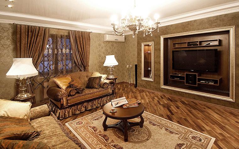 Квартира. гостиная из проекта , фото №39043