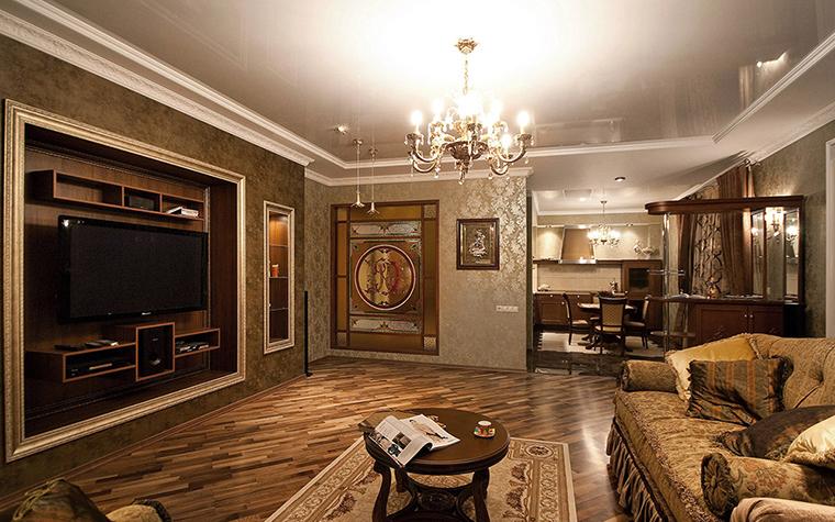 Квартира. гостиная из проекта , фото №39045
