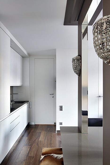 Фото № 39095 кухня  Квартира