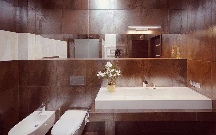 Квартира. ванная из проекта , фото №39191