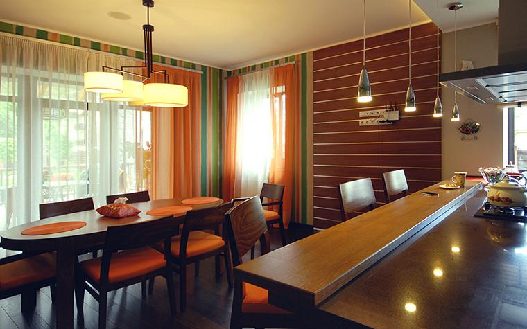 Квартира. столовая из проекта , фото №39186